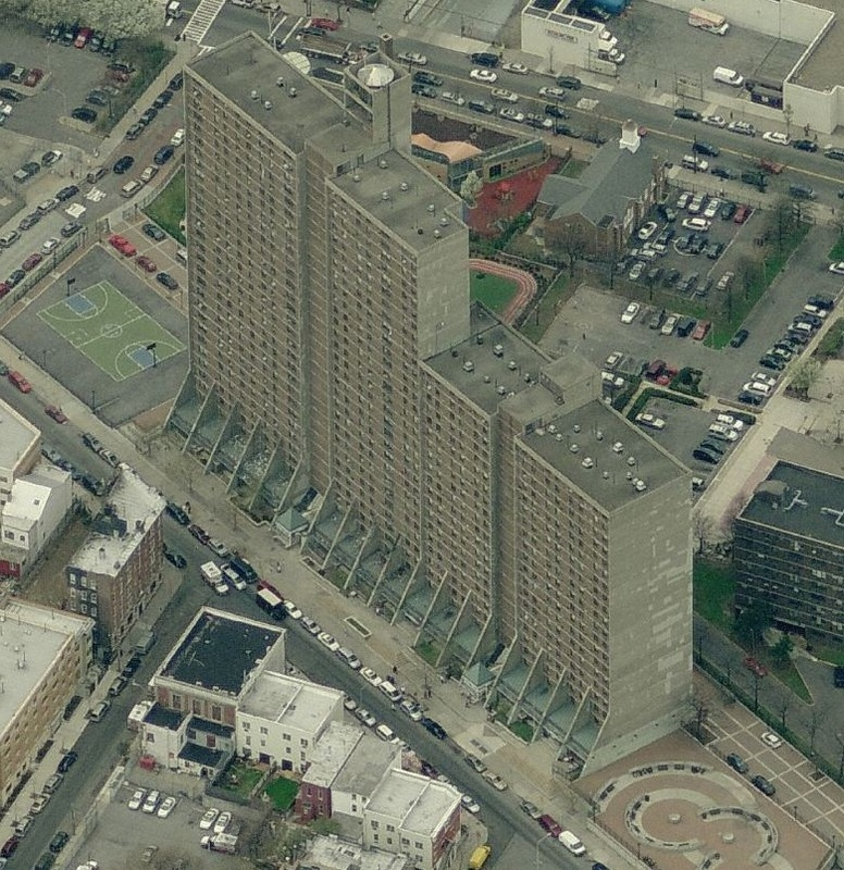 Morrisania Air Rights, view from above.