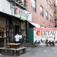 A Japanese-fusion restaurant that recently opened in Mott Haven