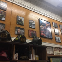 80's memorabilia at Engine 41
